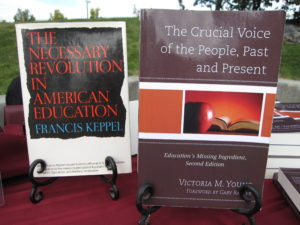 After reading The Necessary Revolution in American Education, I had to write a second edition. The Crucial Voice was published in 2012.