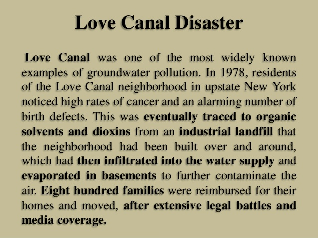 love canal case study