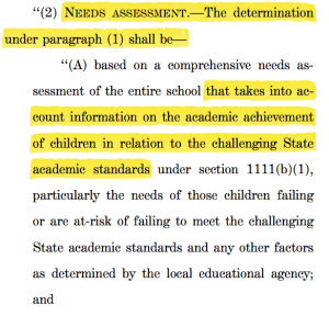 This continues the standards-based theory that led to a narrow curriculum...which is devastating TO poor kids.